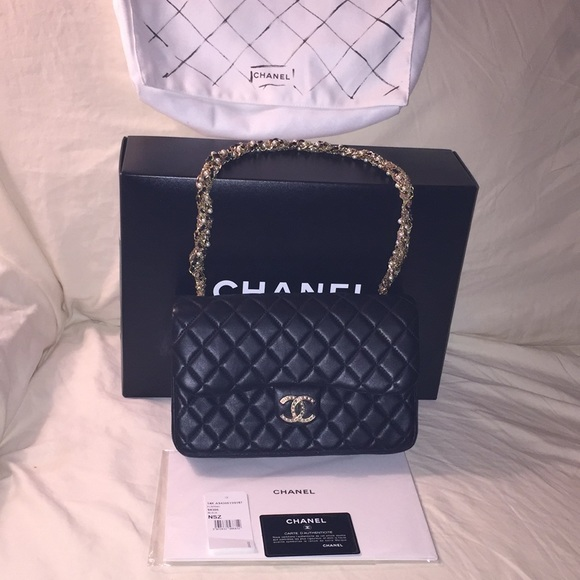 f1a5a617dfdf CHANEL Bags | Nwt Lambskin Med Westminster Pearl Flap Bag | Poshmark